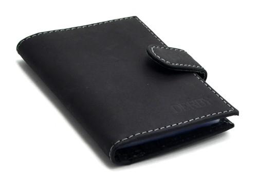 Визитница кожаная Hunter Leather Derby 0450432