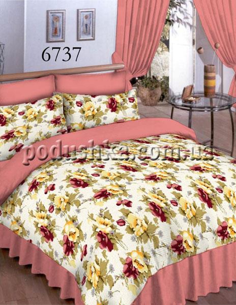 Постельное белье Вилюта 6737 красный