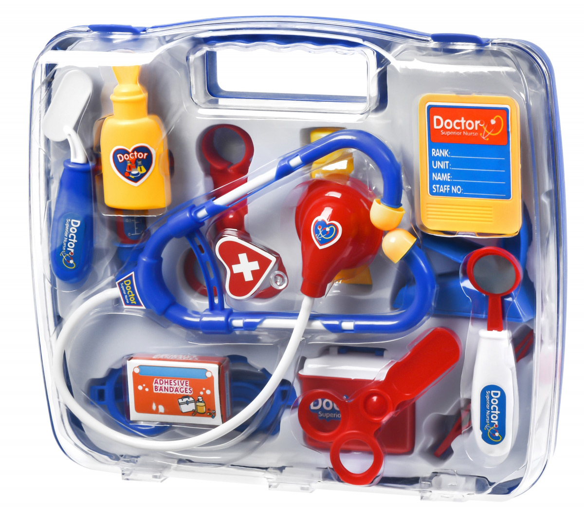 Игровой набор Same Toy Доктор в кейсе синий 7735AUt