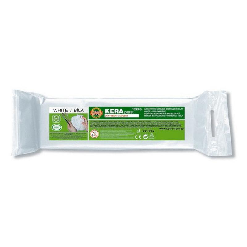 Пластилин Keraplast легкий белый 130 г Koh-i-noor 131696