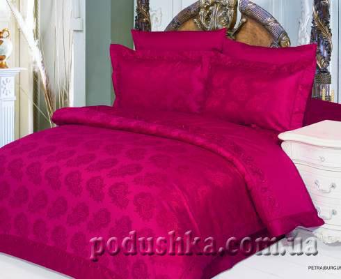 Постельное белье Petra-burgundy, Le Vele