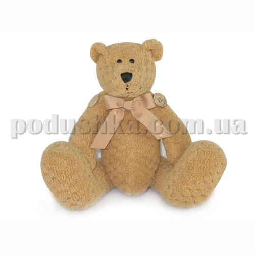 Мягкая игрушка - Медведь с пуговицами большой музыкальный, 19 см