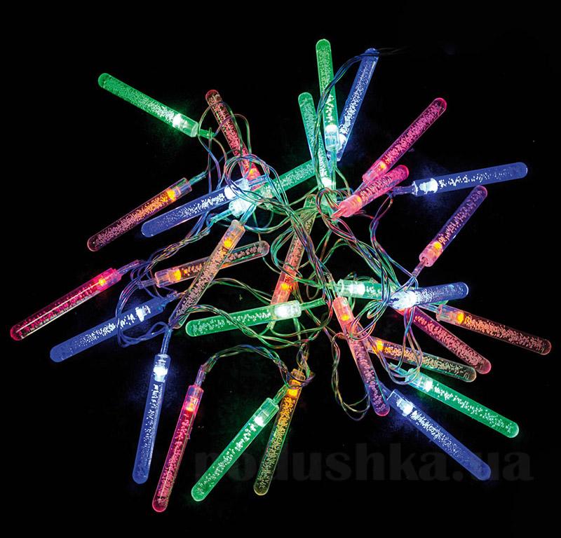 Электрогирлянда Капля многоцветная Новогодько 800860