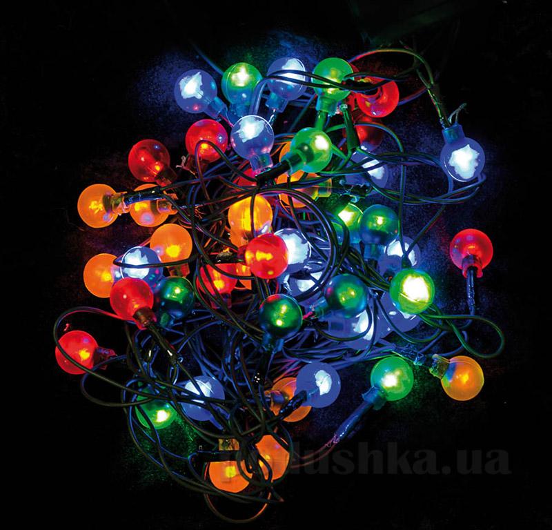 Электрогирлянда многоцветная Шарики Новогодько 800854