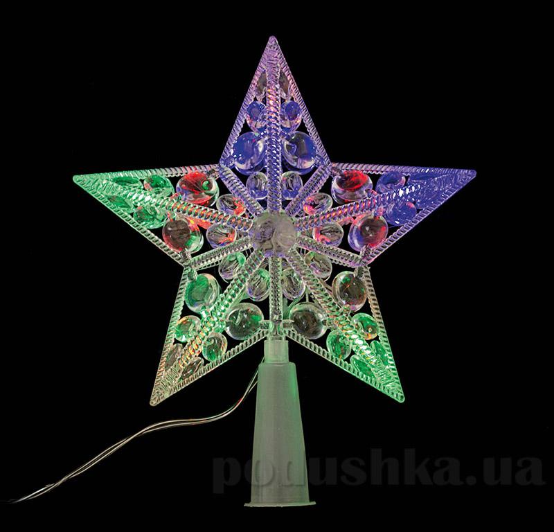 Электрогирлянда верхушка на елку Звезда Новогодько 800875