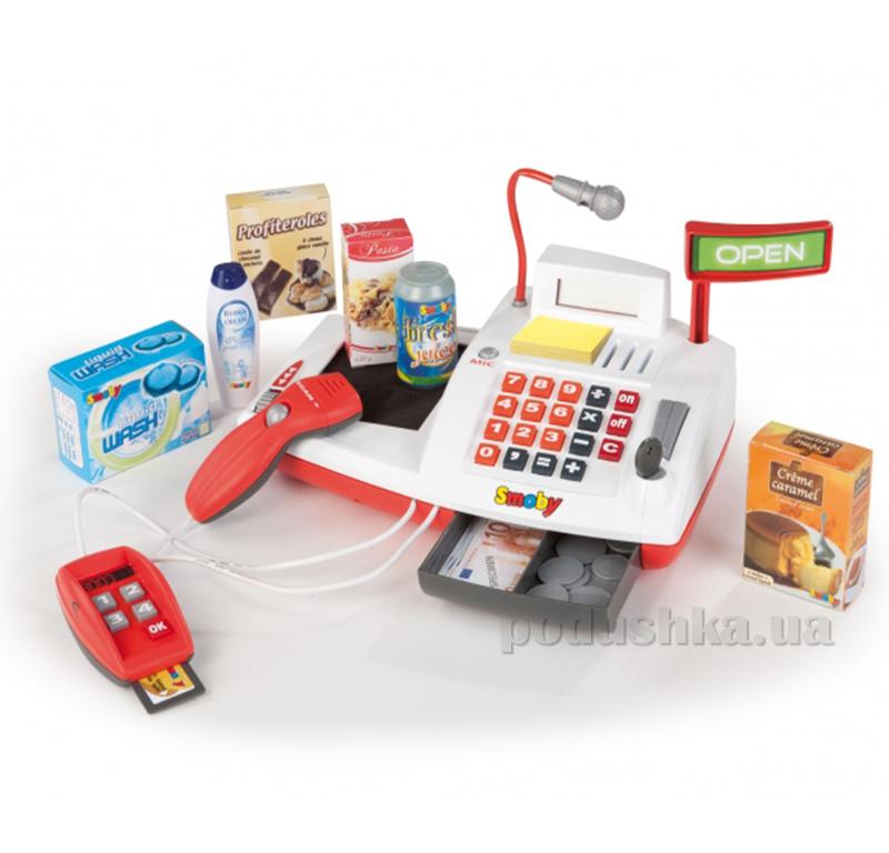 Электронная касса с терминалом и громкоговорителем Smoby 024091