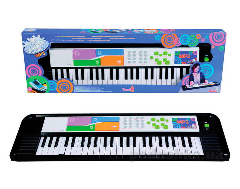 Электросинтезатор 49 клавиш Simba 683 7079   Simba