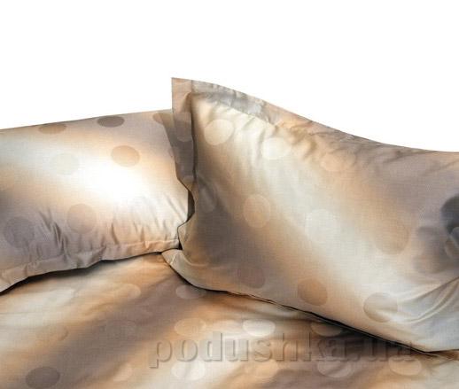 Элементы постельного белья Billerbeck мако-сатин Beige circles