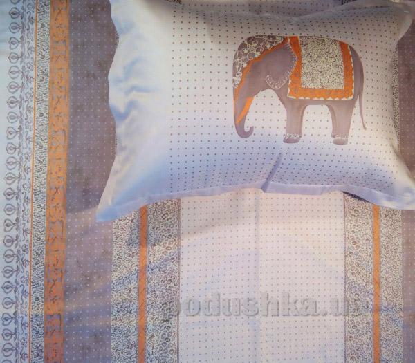 Элементы постельного белья Billerbeck мако-сатин Beige elephants