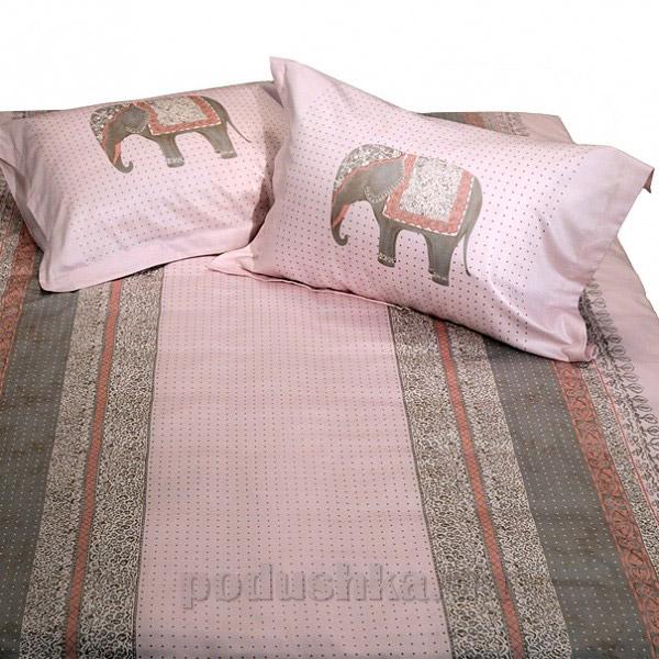 Элементы постельного белья Billerbeck мако-сатин Pink elephants