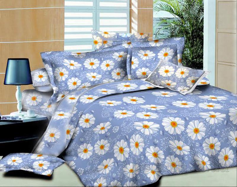 Элементы постельного белья Indigo daisies SoundSleep поплин