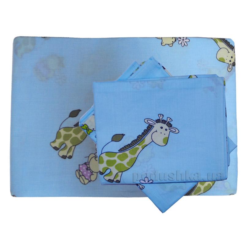 Элементы постельного белья в кроватку Вилюта 5507 голубые