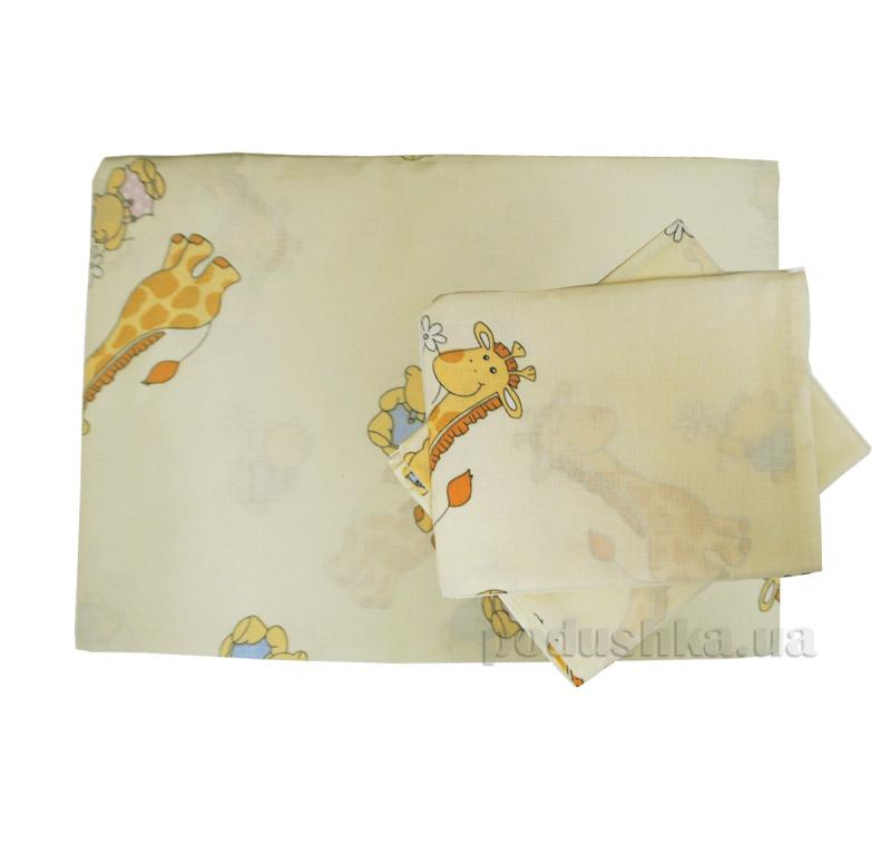 Элементы постельного белья в кроватку Вилюта 5507 желтые