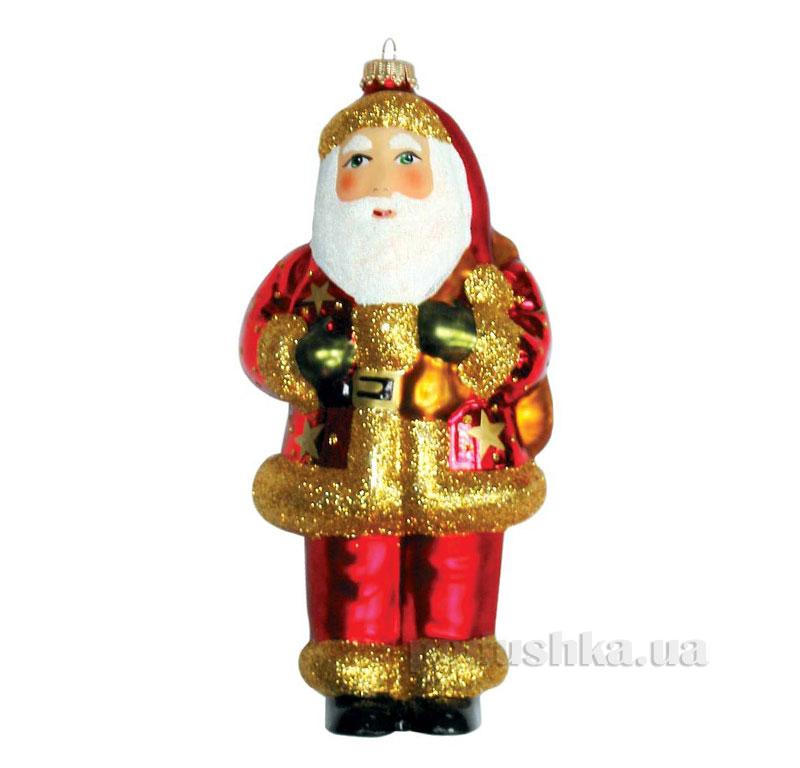 Елочная игрушка Дед Мороз с мешком 960035