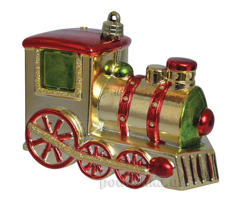 Елочная игрушка Паровозик Новогодько 971941