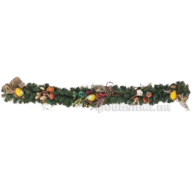 Елочная ветка с украшением Тропиканка Новогодько 903371