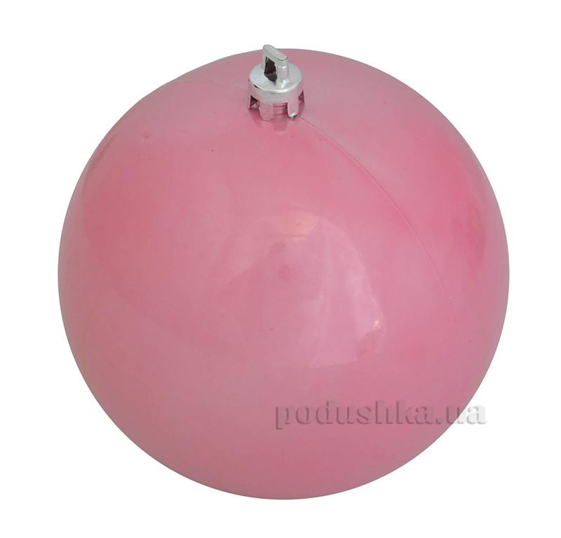 Елочный шар розовый перламутр Новогодько 971919