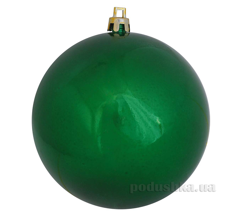 Елочный шар зеленый перламутр Новогодько 971914