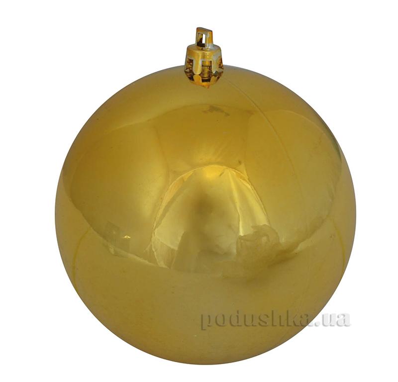 Елочный шар золотой глянец Новогодько 971705