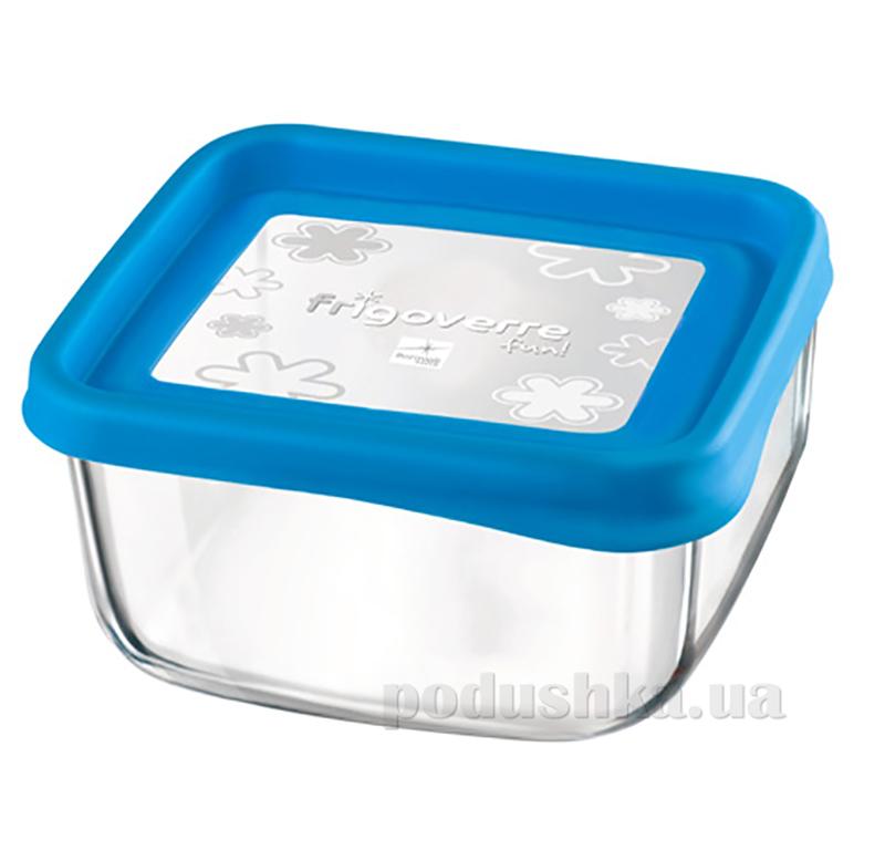 Емкость для продуктов Bormioli Quadra fun 15х15 голубая