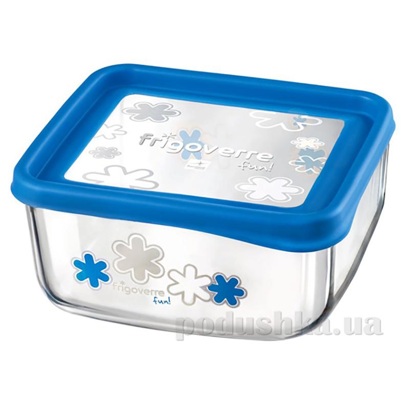 Емкость для продуктов Bormioli Quadra fun 19х19 голубая