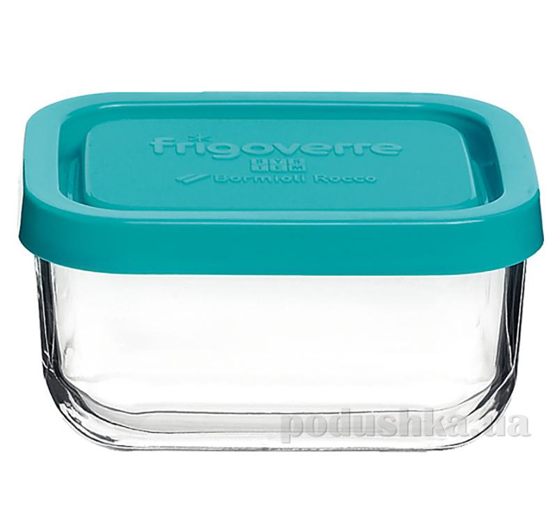 Емкость для продуктов Bormioli голубая  емкость 0,24 л Bormioli