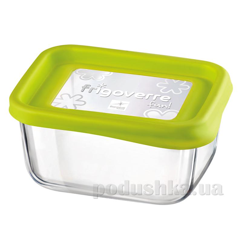 Емкость для продуктов Bormioli System fun 13х10 зеленая