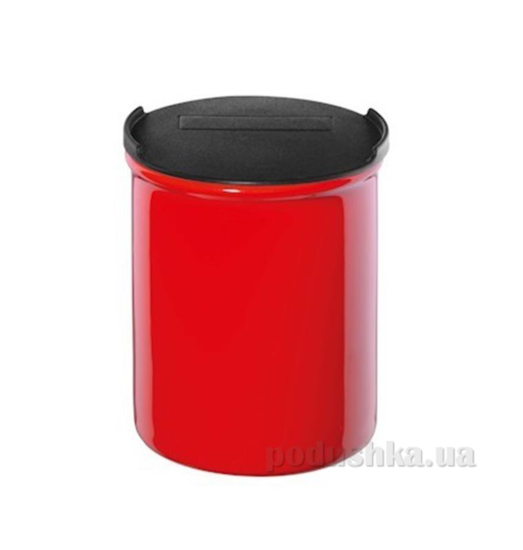 Емкость для продуктов с крышкой Asa selection red 10см