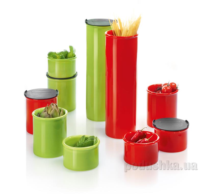 Емкость для продуктов с крышкой Asa selection red 6см