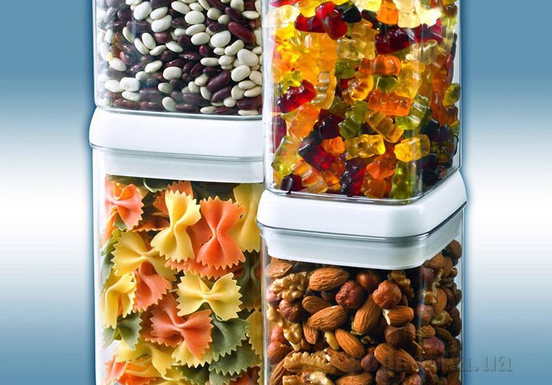 Емкость для сыпучих продуктов Fresh-Easy Leifheit квадратная