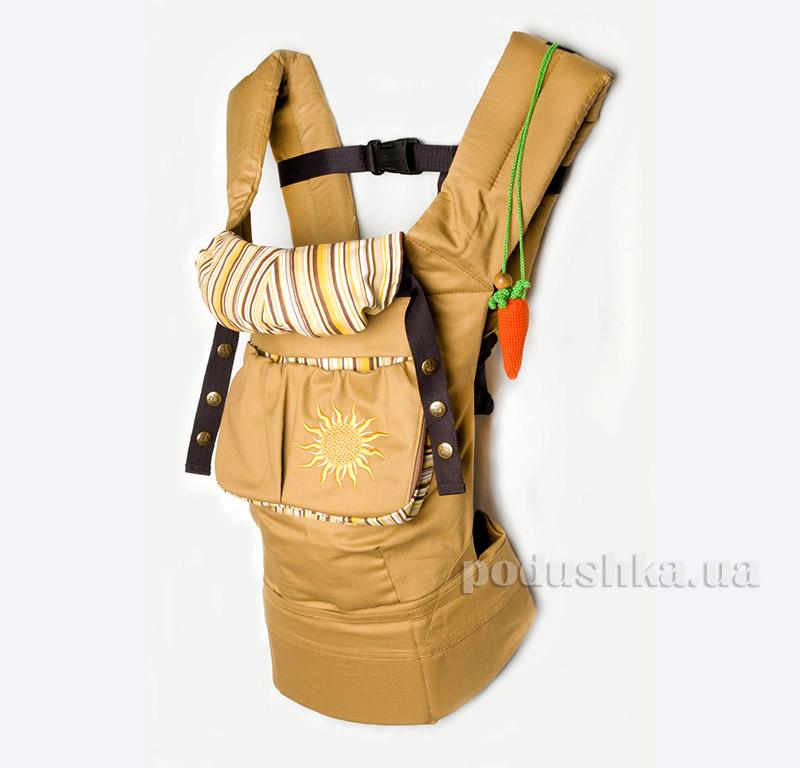 Эрго рюкзак солнце в пустыне Модный карапуз My baby 03-00345