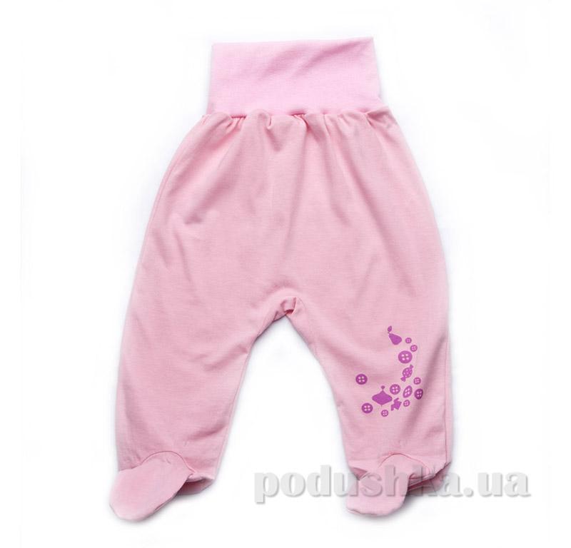 Евроползунки для девочки кулир Модный карапуз 303-00017 розовые
