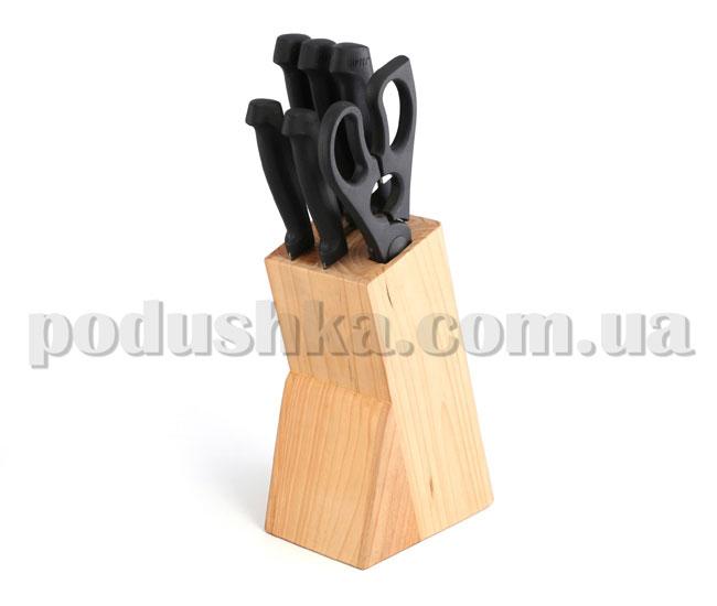 Набор ножей TRADITION 7 предметов на деревянной подставке 6616   Gipfel