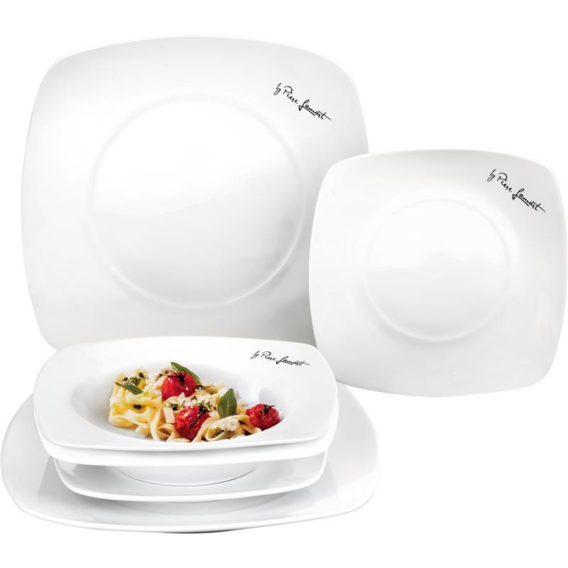 Набор тарелок Lamart керамических квадратных 6 шт. LT9002 белый