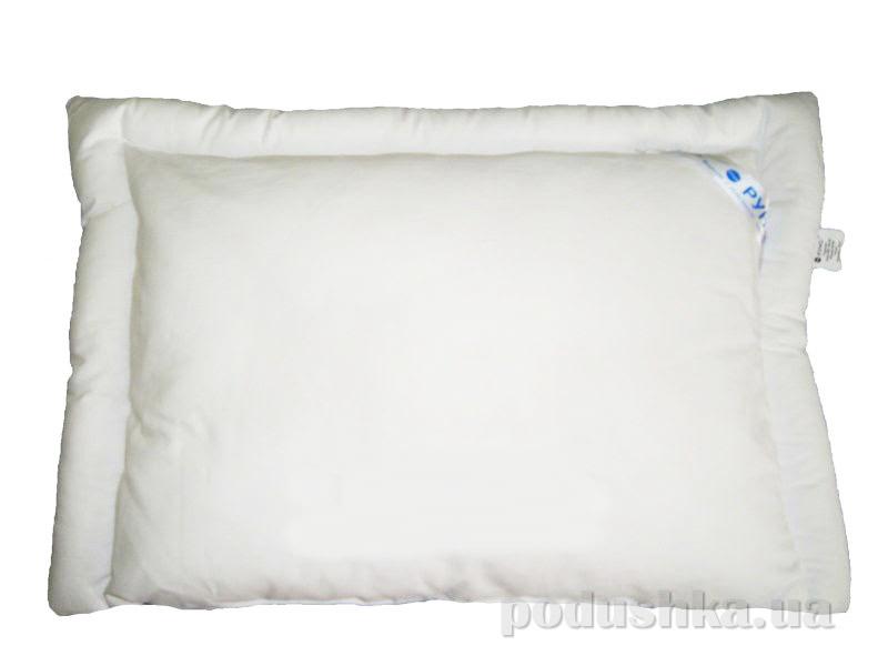 Подушка детская шерстяная Руно белая 309.04ШУ