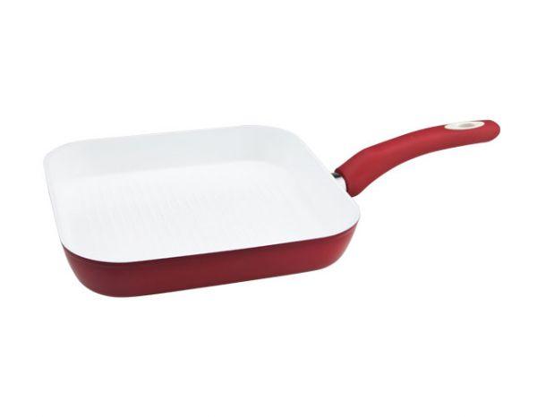 Сковорода-гриль EcoCeramic Induction Vinzer