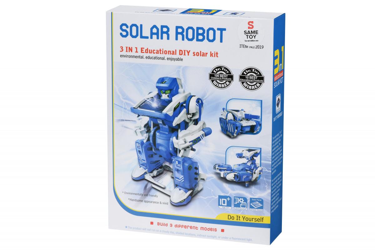 Робот-конструктор Same Toy Трансформер 3 в 1 на солнечной батарее 2019UT