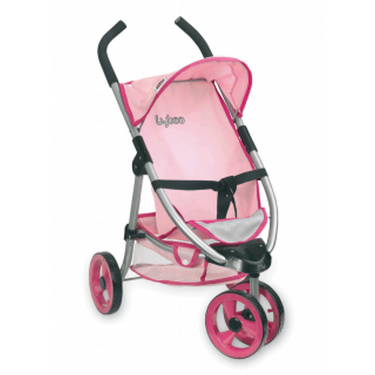 Коляска 3х-колесная Loko Toys Byboo Pink 97070 38х63х68 см