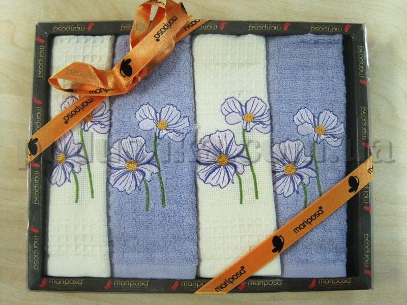Набор кухонных полотенец Mariposa Цветочек 006
