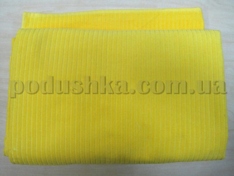 Простынь велюровая Hanibaba желтая
