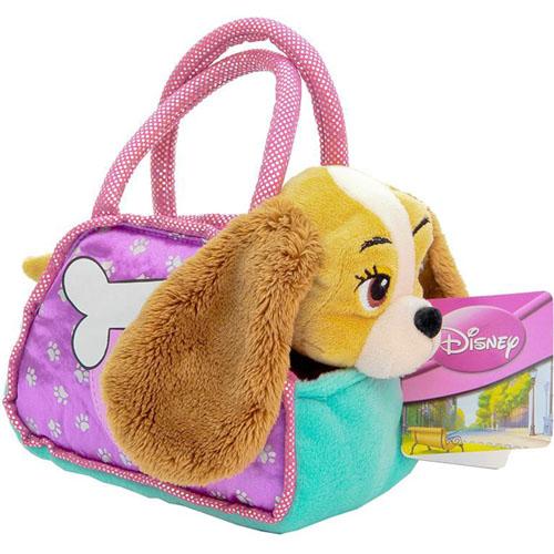 Мягкая игрушка Коккер-спаниель в сумке