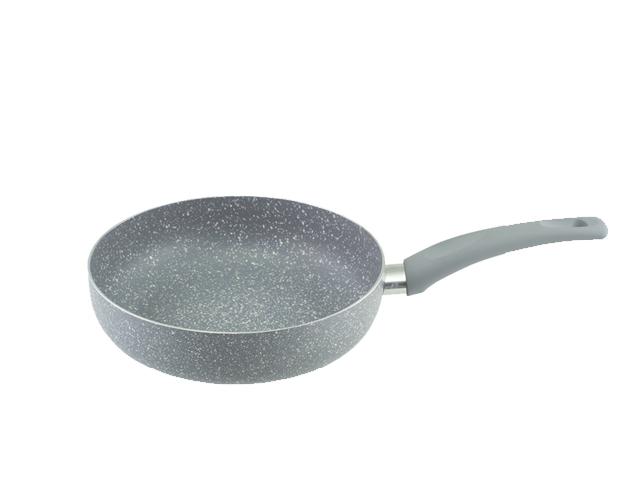 Глубокая сковорода Vinzer Stone line induction 24 см 89417