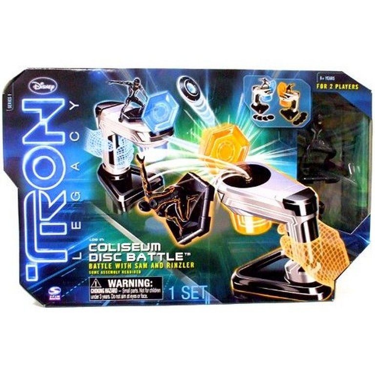 Диск - пусковая установка Tron 39018-6014336-Tron + Фигурка в подарок