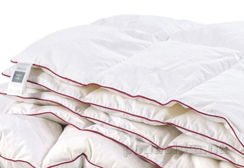 Одеяло детское пуховое кассетное Деми MirSon DeLuxe белый пух 100 % ДеЛюкс 029 демисезонное 110х140 см вес 150 г. MirSon