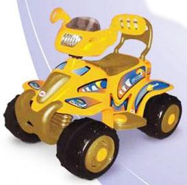 Квадроцикл Loko Toys, цвет жёлтый, 99801N-O