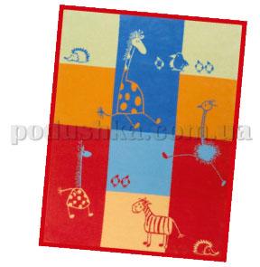 Плед детский Comik красный 575050 Kids cotton Bocasa