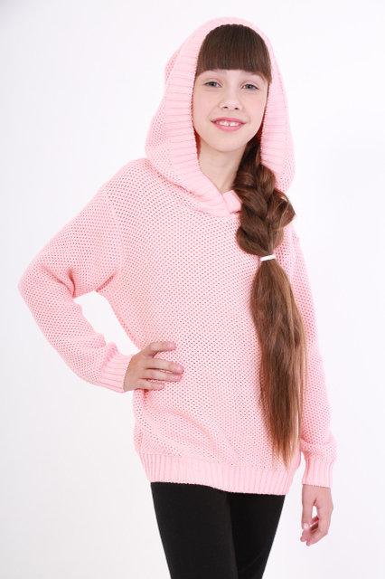 cb6f06a6488 Кофта с капюшоном для девочки ОТМ Дизайн 8317 розовая купить в Киеве ...