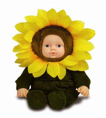 Кукла-подсолнух 23 см