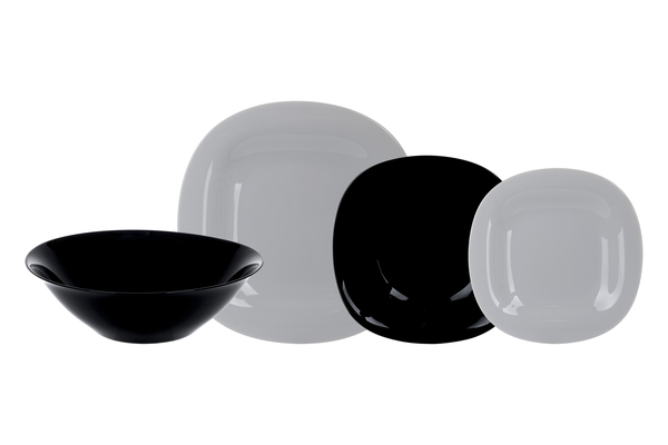 Сервиз Luminarc Carine Granit&Black 19 предметов N7669