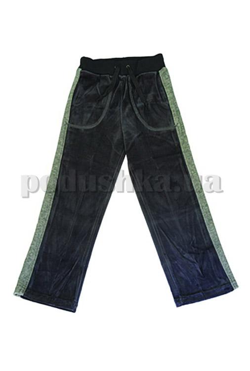 Штаны спортивные для мальчиков Бемби ШР81 велюр